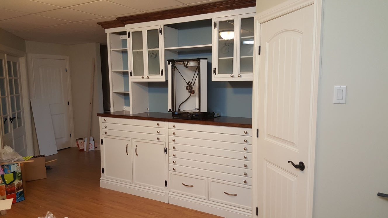 Cabinet for 3d printer eric girard for 3d printing kitchen cabinets